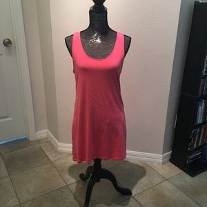Coral dress basic from H&M